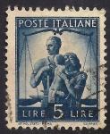 Sellos de Europa - Italia -  Unidad Familiar y Balanza.