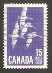 Stamps Canada -  337 - aves