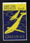 Stamps United States -  Ballenas
