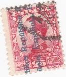 Sellos de Europa - España -  ALFONSO XIII   (V)