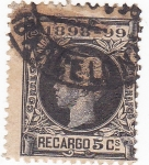 Stamps : Europe : Spain :  ALFONSO XIII   (V)