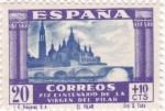 Sellos de Europa - España -  (V)XIX CENTENARIO DE LA VENIDA DE LA VIRGEN DEL PILAR A ZARAGOZA