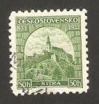 Stamps Czechoslovakia -  282 - 1100 Anivº de la primera iglesia en Nitra, Eslovaquia