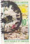 Sellos de Africa - Camerún -  Indígenas