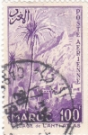 Stamps Morocco -  VILLAGE de LANTI ATLAS