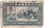 Stamps Morocco -  VISTA DE RABAT