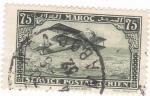 Stamps Morocco -  VISTA DE CASABLANCA y Avión