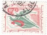 Sellos de Africa - Argelia -  BANDERA ARGELINA