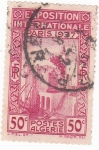 Sellos de Africa - Argelia -  EXPOSICIÓN INTERNACIONAL PARÍS 1937