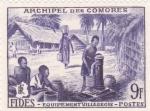 Sellos del Mundo : Africa : Comores : POBLADO INDÍGENA