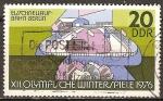 Sellos de Europa - Alemania -  Juegos Olímpicos de Invierno en Innsbruck (1976)DDR.