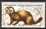 Sellos de Europa - Alemania -  International Leipzig Tobacciana Subasta (Hurón)-DDR.