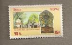 Sellos del Mundo : Asia : Nepal : Bindhyabasini