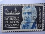 Sellos de America - Estados Unidos -  Ingeniero: Robert Fulton 1765-1965