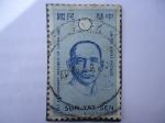 Sellos de America - Estados Unidos -  Sun Yat Sen - 1911 Anniversary Repubvlic of China 1961