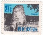 Stamps Zimbabwe -  TURISMO