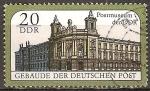 Sellos de Europa - Alemania -  Museo Postal en Berlín,DDR.