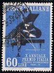 Sellos de Europa - Italia -  X aniversario del Gran Premio de Italia (Concurso Internacional de Radio y Televisión)