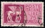 Sellos de Europa - Italia -  Caballos Alados Etruscos.