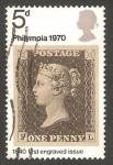 Stamps United Kingdom -  599 - Exposición filatélica