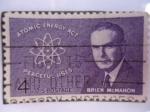 Stamps United States -  Brien McMahon