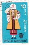 Stamps Romania -  Traje Regional - SUCEAVA