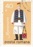Sellos de Europa - Rumania -  Traje Regional - MARAMURES