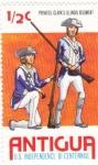 Stamps Antigua and Barbuda -  REGIMIENTO ILLINOIS