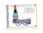 Sellos de Europa - Bulgaria -  Locomotora