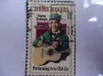 Stamps United States -  Jimmie Rodgers.