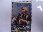 Stamps United States -  Spirit of 76 - Bicentennial:The Spirit of 76.