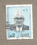 Stamps Nepal -  Político