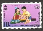 Sellos de Asia - Corea del norte -  1564 - 30 anivº del día del niño