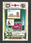 Sellos de Asia - Corea del norte -  1698 - Exposición filatelica internacional, Philatokyo 81