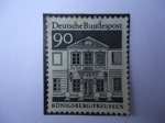 Stamps Germany -  Convento Zschock- Konigsberg.
