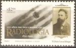 Stamps Mexico -  CENTENARIO  DE  LA  RADIOLOGÌA
