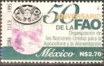 Stamps Mexico -  50  AÑOS  DE  LA  FAO