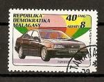 Sellos del Mundo : Africa : Madagascar : Toyota.