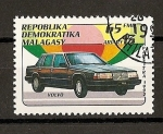 Stamps Africa - Madagascar -  Volvo.