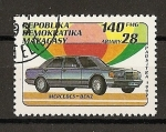 Stamps Africa - Madagascar -  Mercedes Benz.