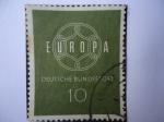 sellos de Europa - Alemania -  Europa C-E-P-T-Deutsche Bundespost.