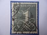 Stamps Germany -  DEUTSCHE.