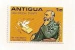 Stamps Antigua and Barbuda -  Premio Nobel