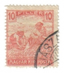 Stamps Hungary -  Cosecha