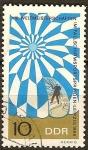 Sellos de Europa - Alemania -  XVIII.Campeonato Mundial de Salto en Paracaídas, de Leipzig-DDR.