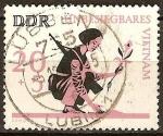 Sellos de Europa - Alemania -  Invencible Vietnam-DDR.
