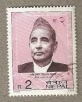 Sellos de Asia - Nepal -  Político