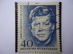 Sellos de Europa - Alemania -  Aniv. de la muerte de:John F. Kennedy - Deutsche Bundespost.