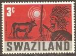 Stamps Africa - Swaziland -  FIESTA  DE  LOS PRIMEROS  FRUTOS