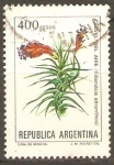 Stamps Argentina -  CLAVEL  DEL  AIRE